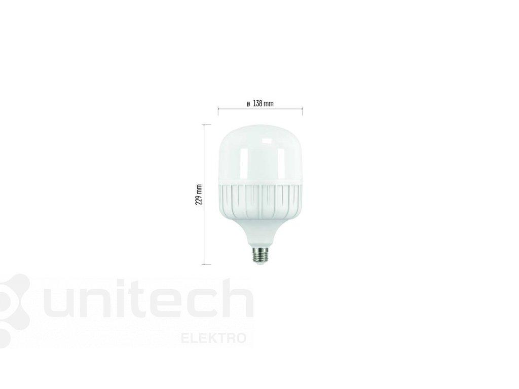 LED žiarovka Classic T140 46W E27 neutrálna biela