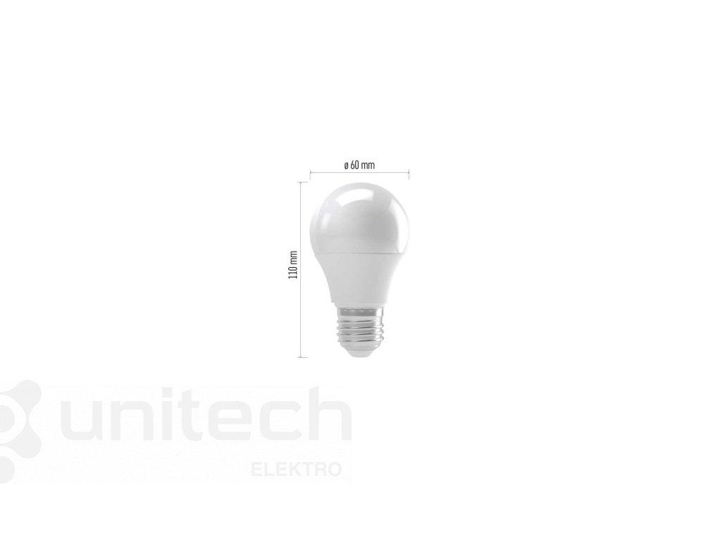 LED žiarovka Basic A60 12W E27 teplá biela