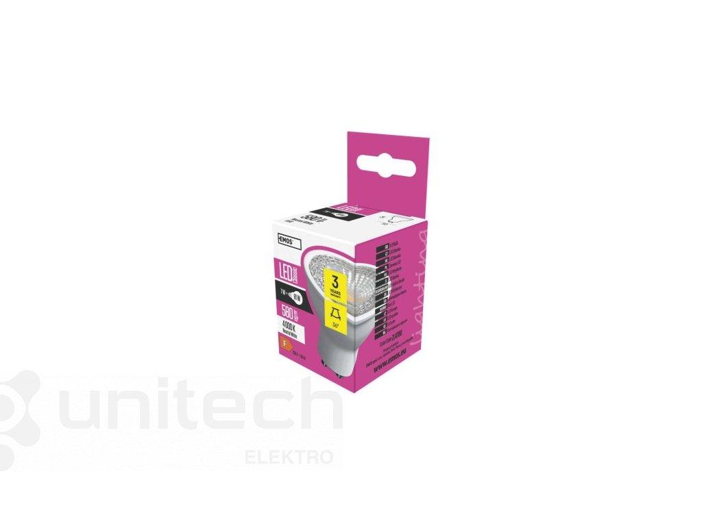 LED žiarovka Premium 6,3W GU10 neutrálna biela