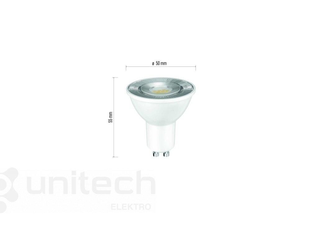 LED žiarovka Classic 7W GU10 neutrálna biela Ra97