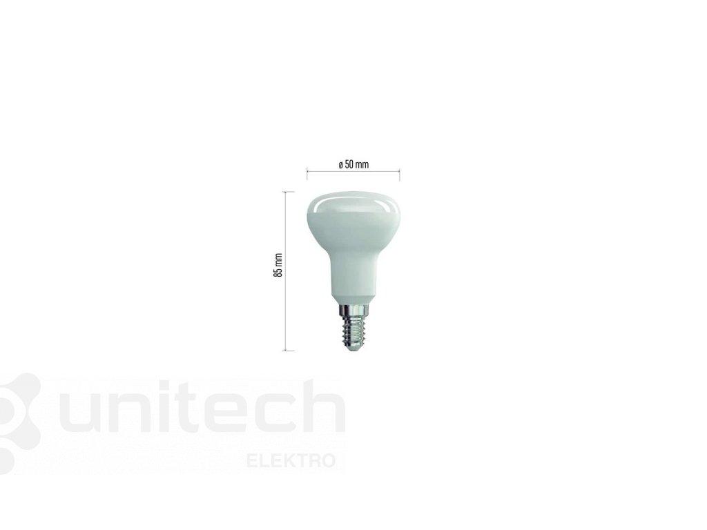 LED žiarovka Classic R50 6W E14 teplá biela