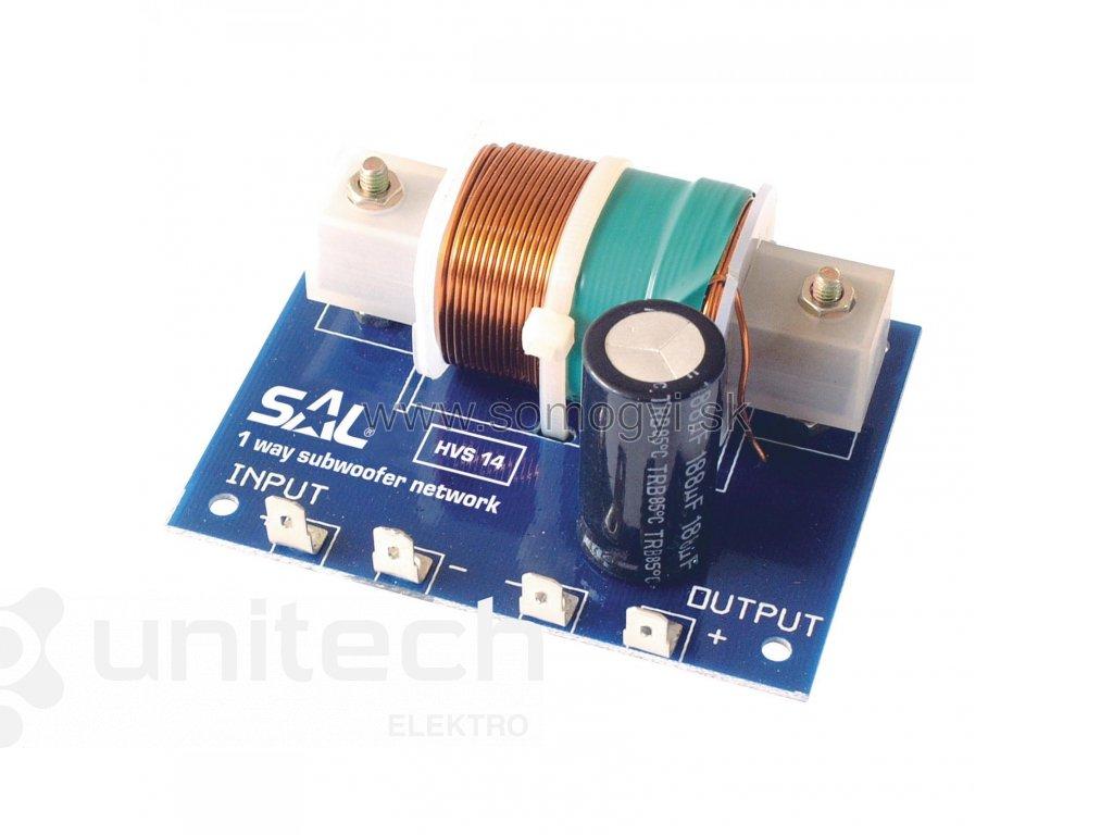 Elektronická vyhybka HVS14, SUBWOOFER, 300W