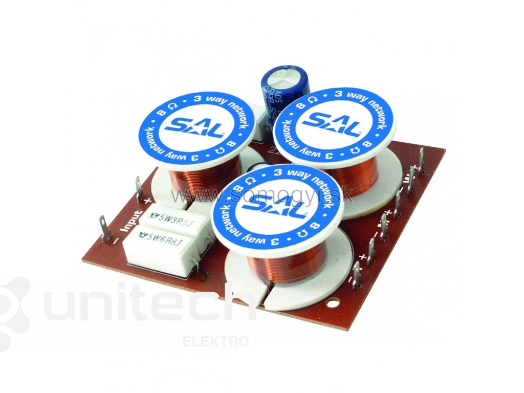 Elektronická výhybka HV316A, trojpásmová, 100W