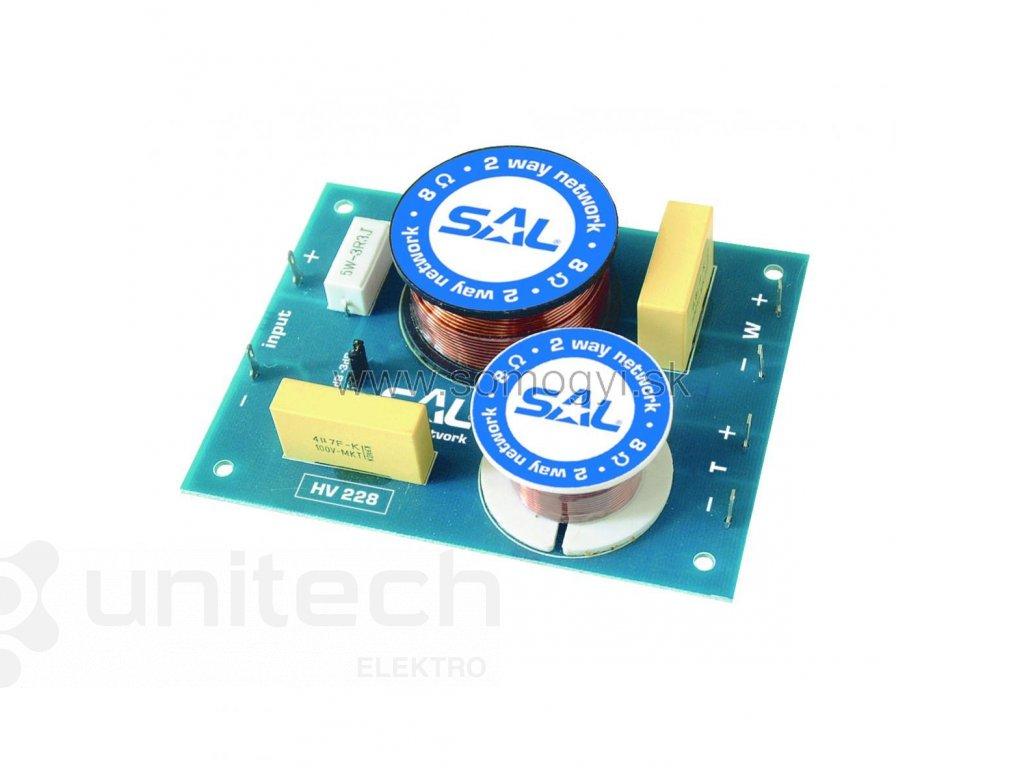 Elektronická vyhybka HV228, dvojpásmová, 200W