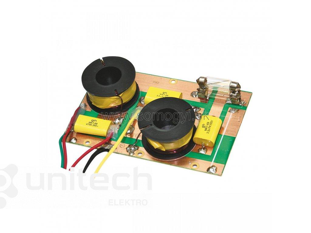 Elektronická vyhybka HVP28, dvojpásmová, 600W