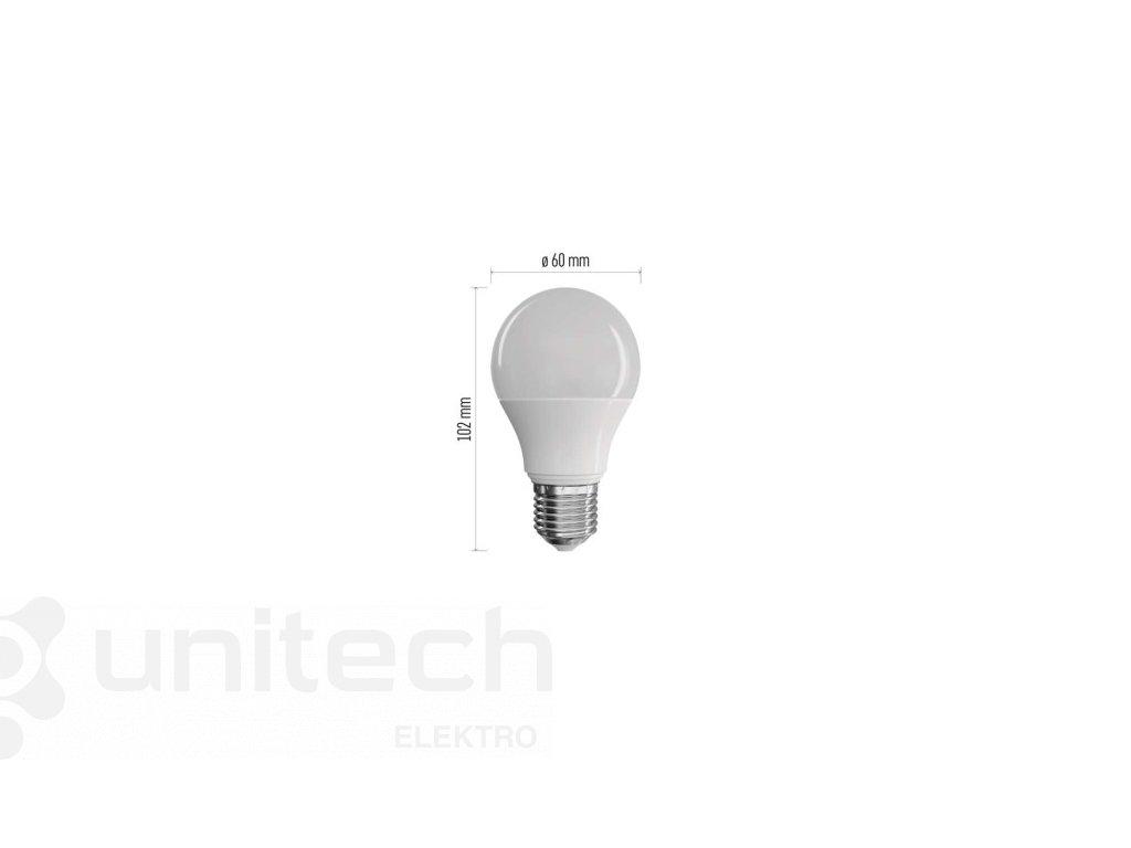 LED žiarovka Classic A60 9W E27 teplá biela