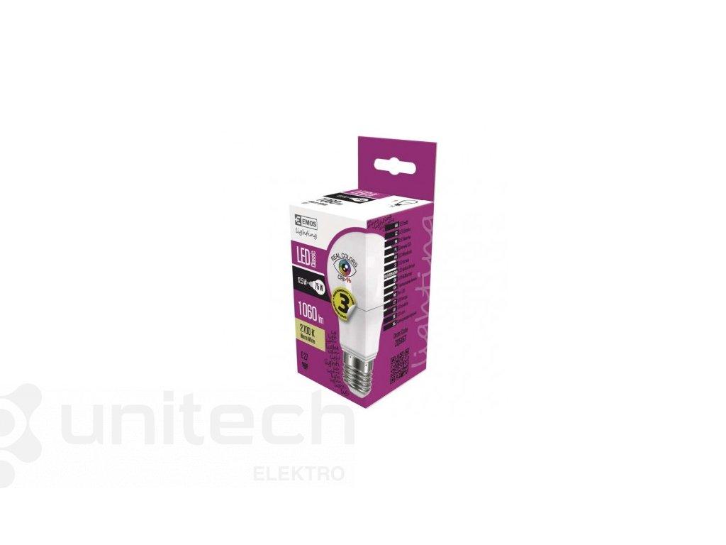 LED žiarovka Classic A60 12,5W E27 teplá biela Ra96