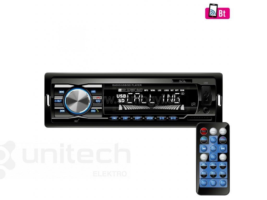 Autorádio VB 3100, BT, FM, USB, SD, AUX
