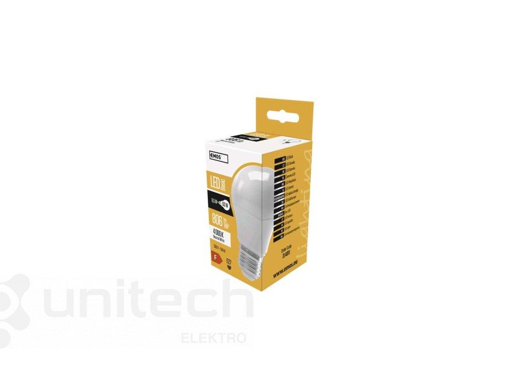 LED žiarovka Basic A60 10W E27 neutrálna biela