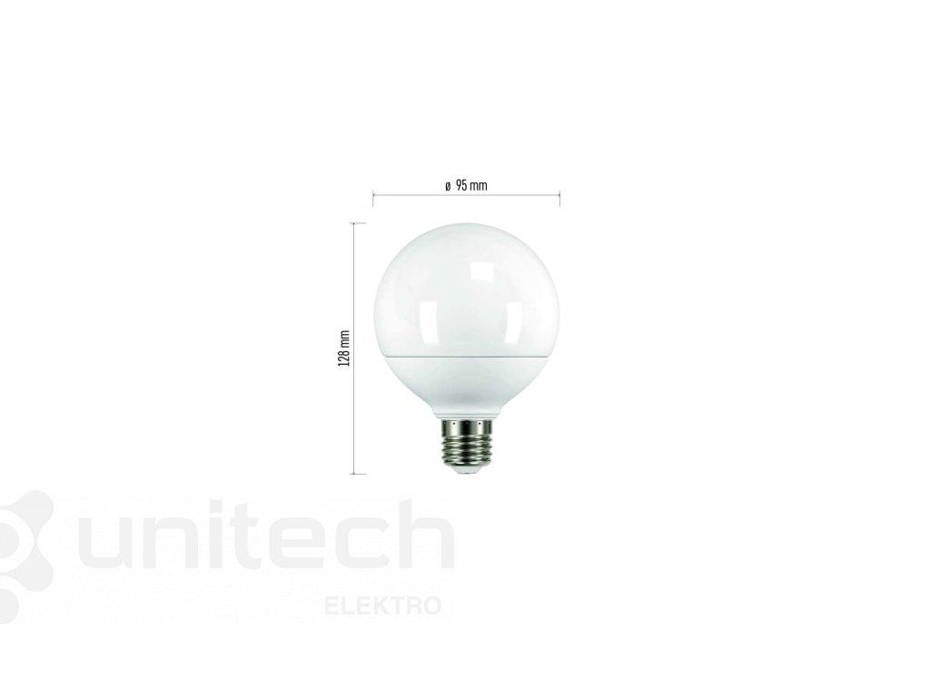 LED žiarovka Classic Globe 11,5W E27 neutrálna biela