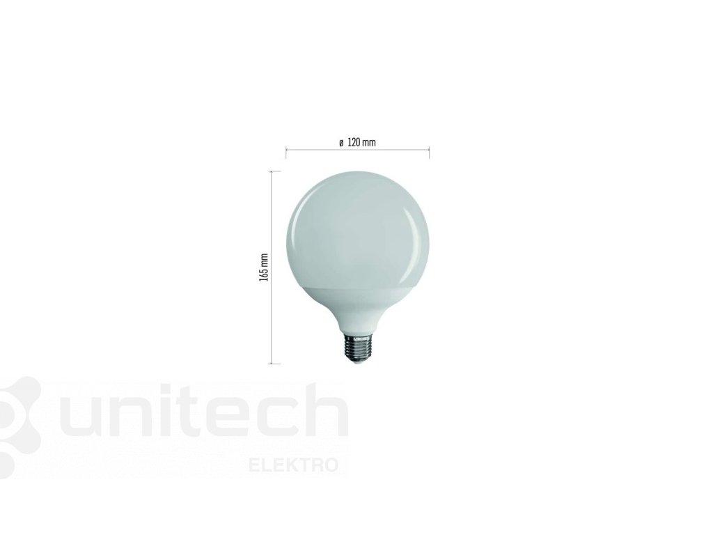 LED žiarovka Classic Globe 18W E27 neutrálna biela