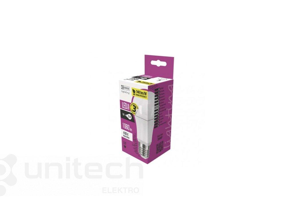LED žiarovka Classic A60 7W E27 neutrálna biela