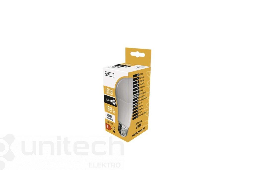 LED žiarovka Basic A60 14W E27 neutrálna biela
