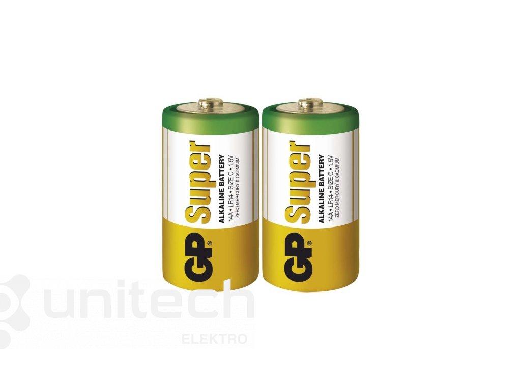 Alkalická batéria GP Super LR14 (C)