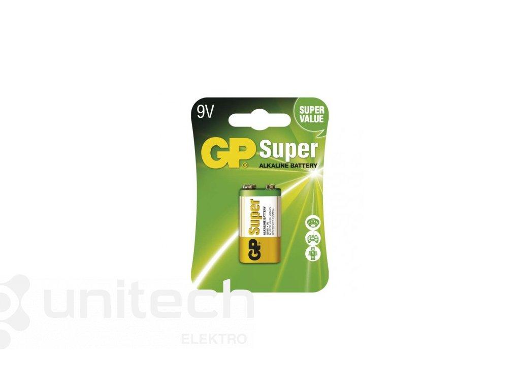 Alkalická batéria GP Super 6LF22 (9V)