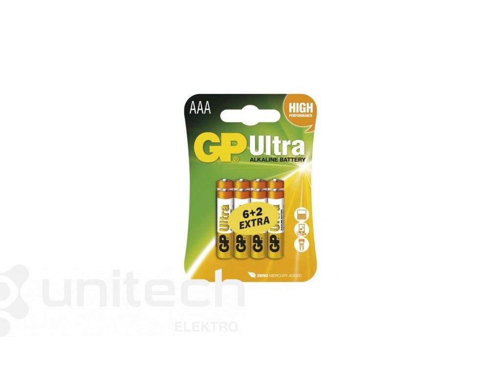 Alkalická batéria GP Ultra LR03 (AAA)