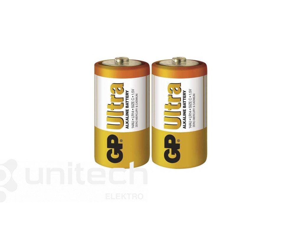 Alkalická batéria GP Ultra LR14 (C)