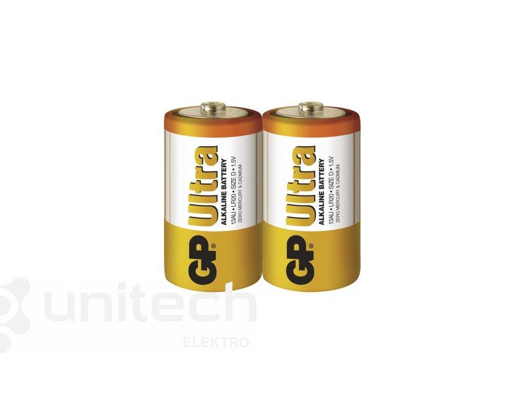 Alkalická batéria GP Ultra LR20 (D)