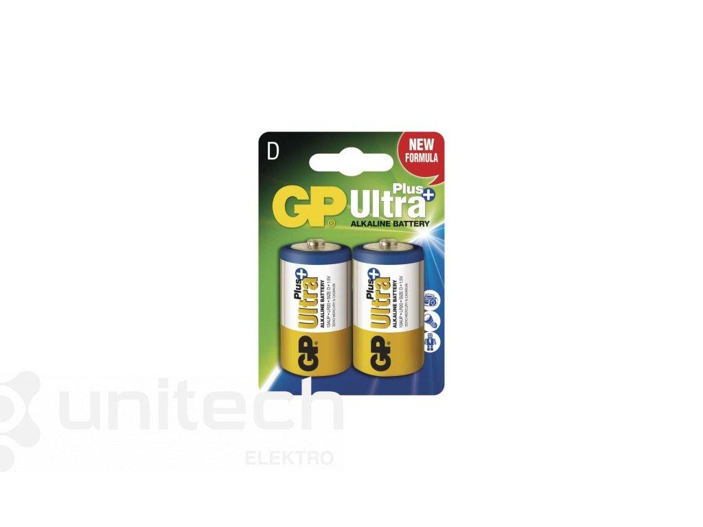 Alkalická batéria GP Ultra Plus LR20 (D)