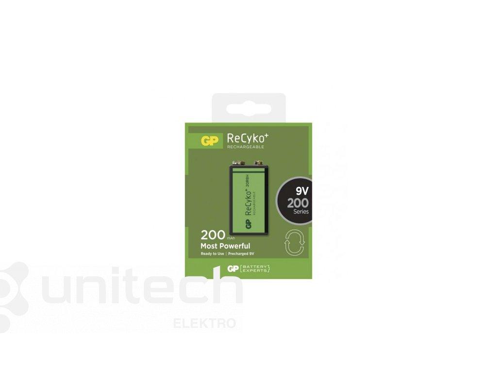 Nabíjacia batéria GP ReCyko+ 200 (9V)