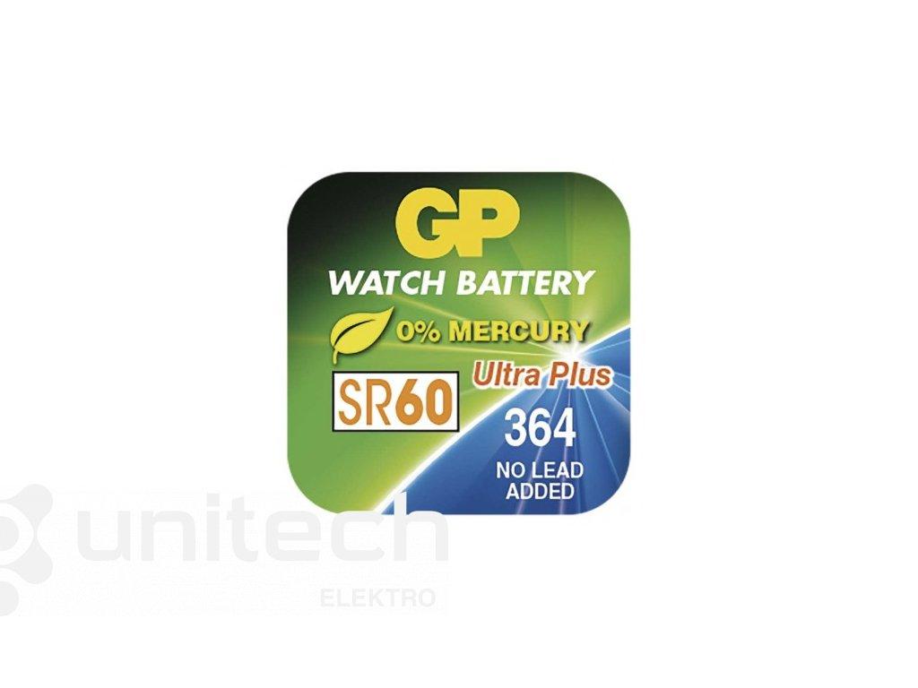Gombíková batéria do hodiniek GP 364F