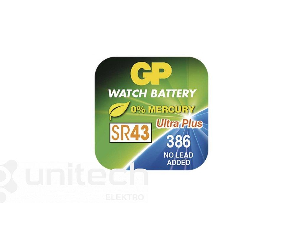 Gombíková batéria do hodiniek GP 386F