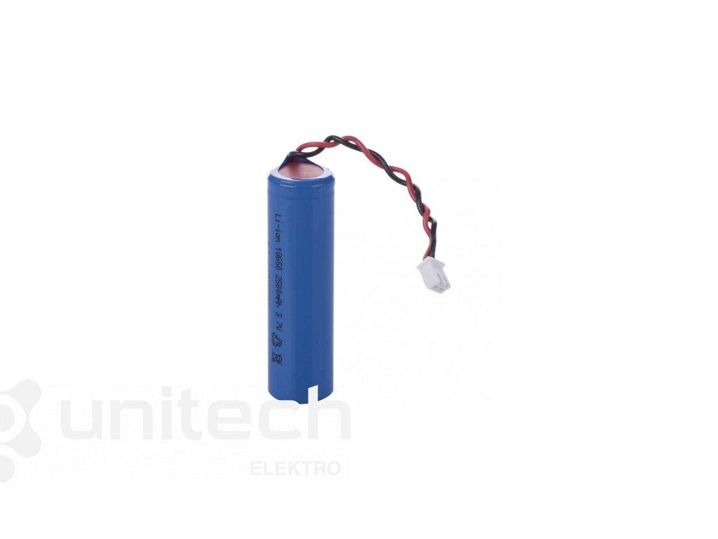 Náhradná Li-ion batéria ku svietidlu P4518, 3,7 V/ 2,5 Ah
