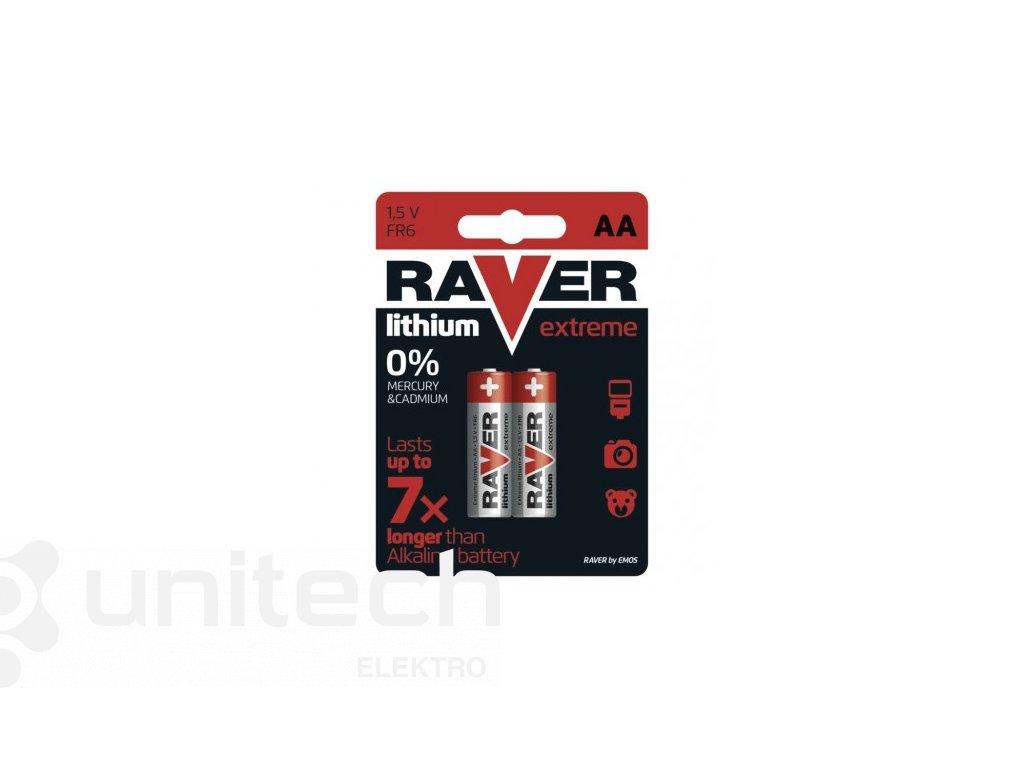 Lítiová batéria RAVER FR6 (AA)