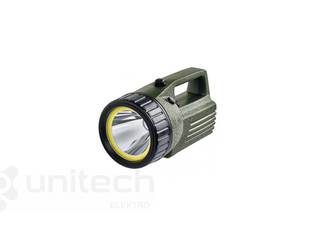 COB LED + LED nabíjacie svietidlo P2308,240 lm, aku 4000 mAh