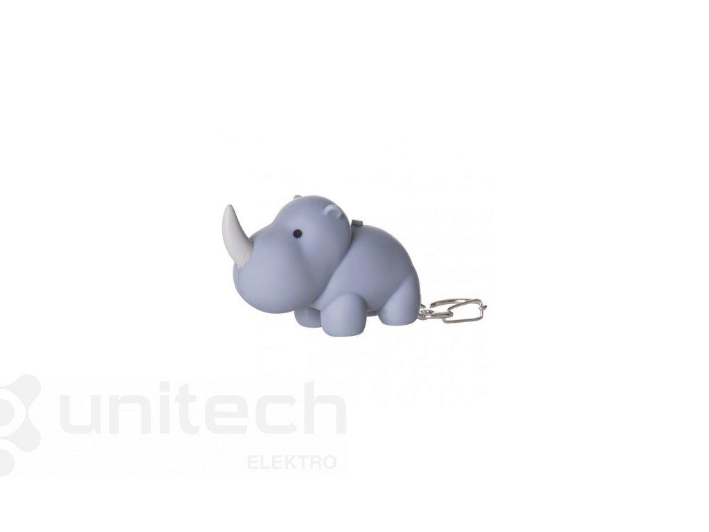 LED kľúčenka – exotické zvieratá so zvukom na LR54, 24 ks