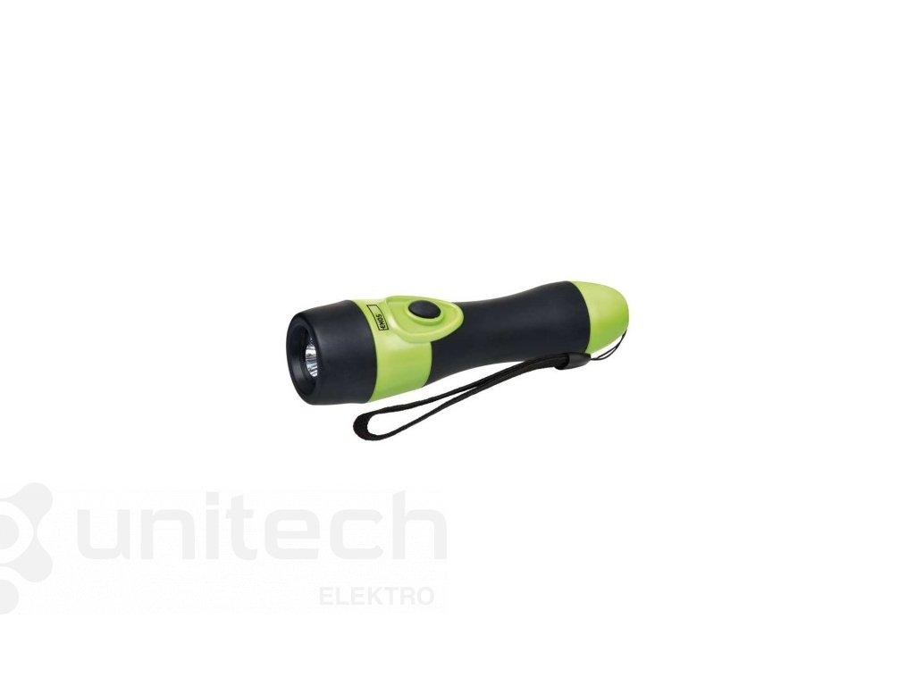 LED ručné gumové svietidlo P3864, 25 lm, 2× AA