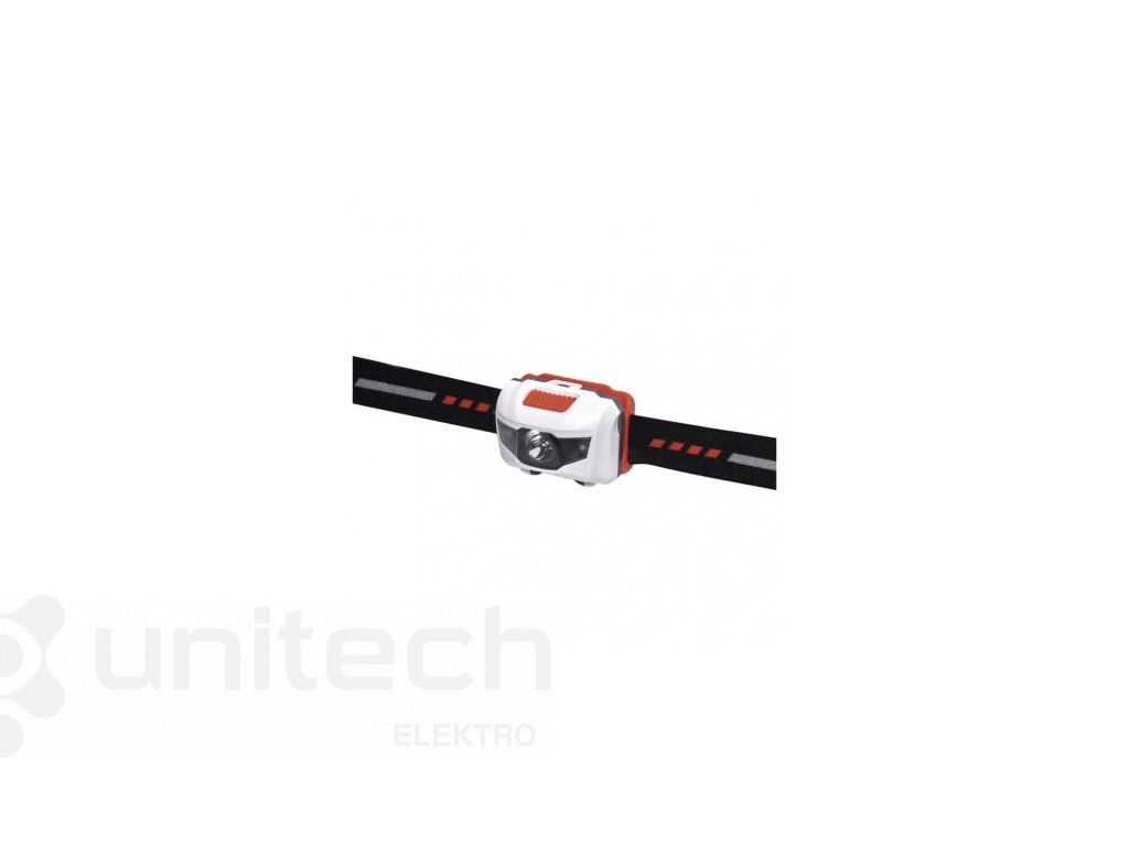 LED čelovka P3521, 85 lm, 30m, 3× AAA