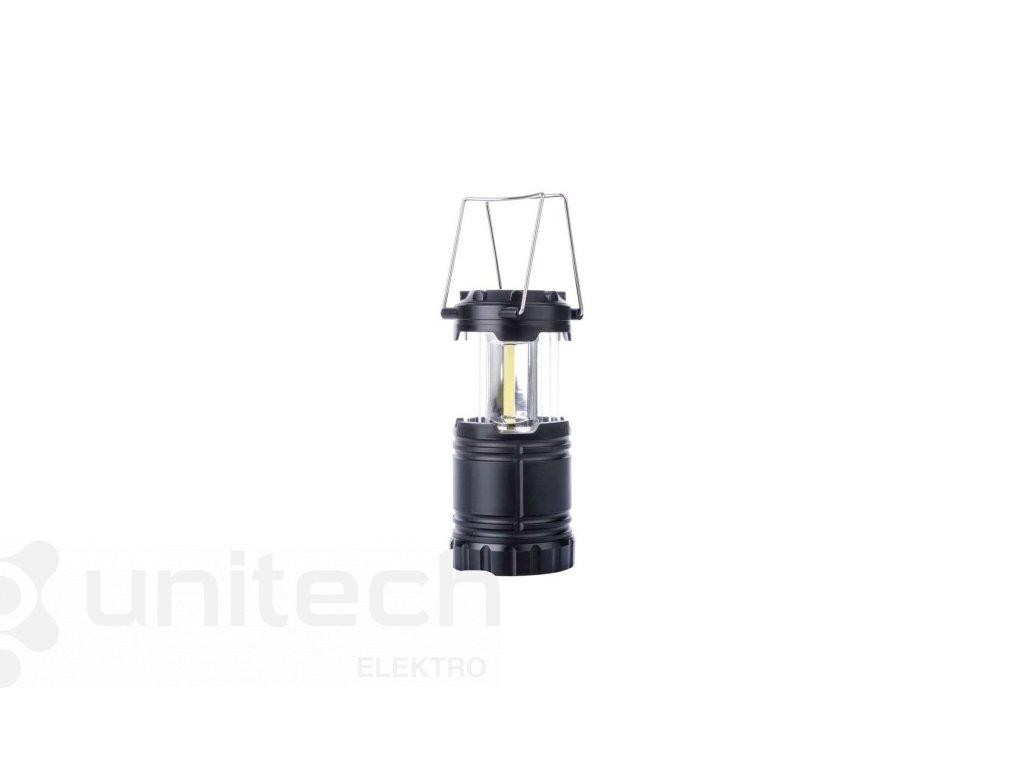 COB LED kempingové svietidlo P4006, 300 lm, 3× AA