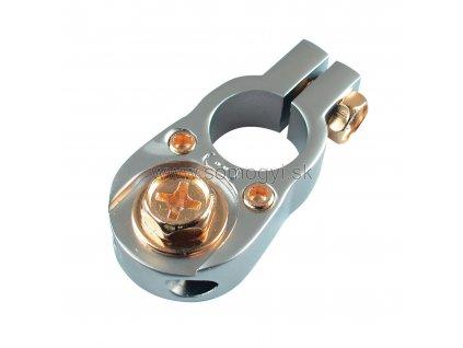 Akumulátorová svorka SS1116/N , pozlátená, mínus -