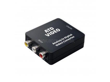 Analógový-digitálny video prevodník ATD VIDEO
