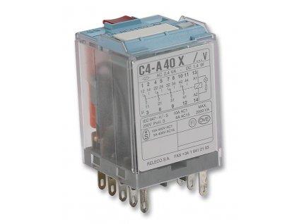 Relé C4-A40X , 230VAC, 10A