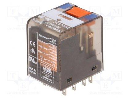 Relé PT570012, 12VDC, 6A, CONNECTIVITY