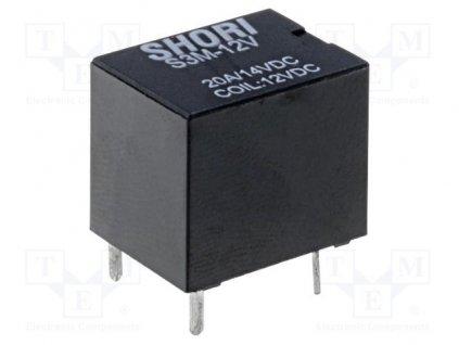 Relé S3M-12-1C SHORI ELECTRIC