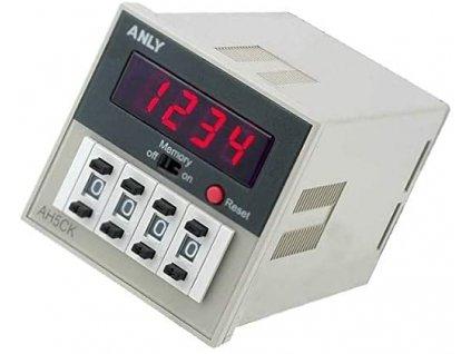 Počítadlo elektronické AH5CK 100-240V AC/DC ANLY ELECTRONICS