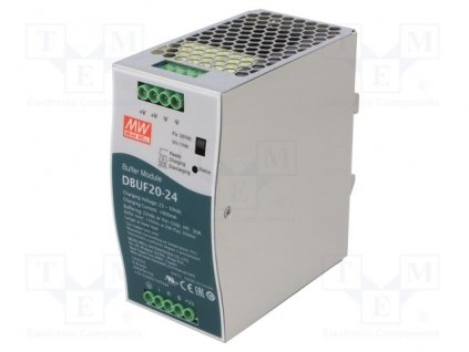 Napájací zdroj NDR-75-24 MEAN WELL, 24VDC, 3.2A