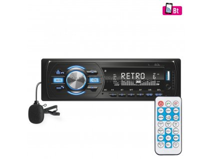 Autorádio VB 4000, BT, FM RDS, MP3, WMA, USB, SD, AUX