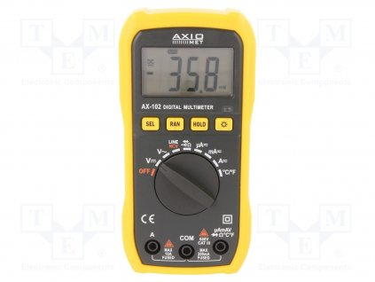Digitálny multimeter AX-102 AXIOMET