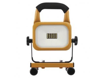 LED reflektor AKU nabíjací prenosný, 10 W studená biela