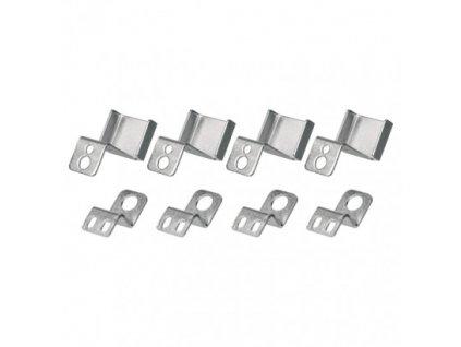 4 háčiky pre LED panel 60×60cm