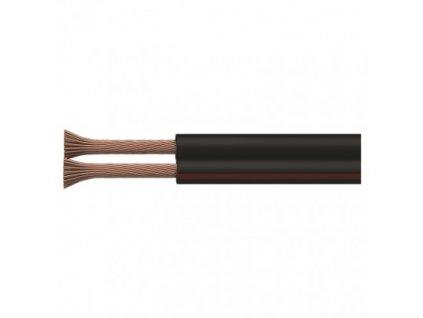 Dvojlinka ECO 2×0,5mm, čierno/červená, 100m
