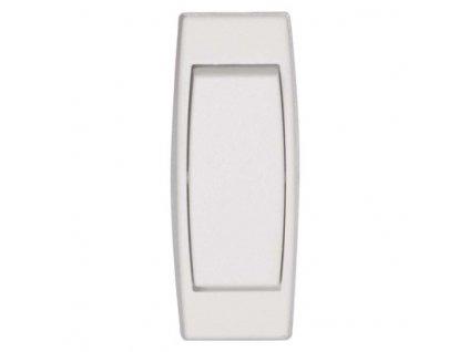 Spínač jednopólový šnúrový priechodzí 3251-01915 biely