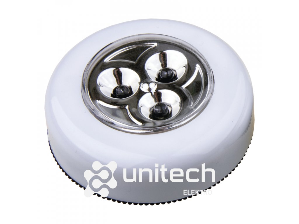 Samolepiace LED svetlo P3819, 12 lm, 3× AAA