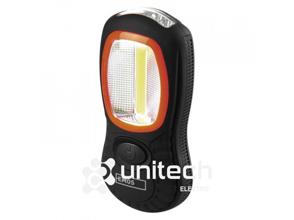 COB LED + LED pracovné svietidlo P3883, 200 lm