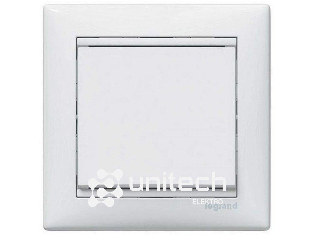 Spínač LEGRAND VALENA č.6, biely, 774406