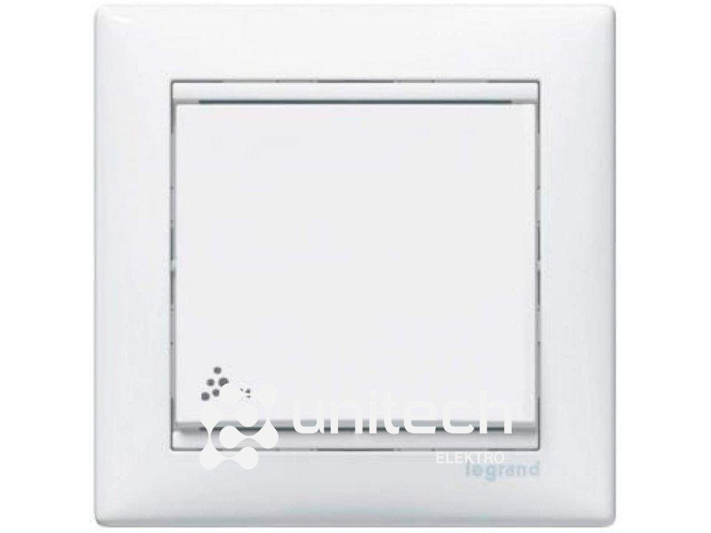 Spínač LEGRAND VALENA č.1, biely, IP44, 774201